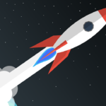 space rocket photo