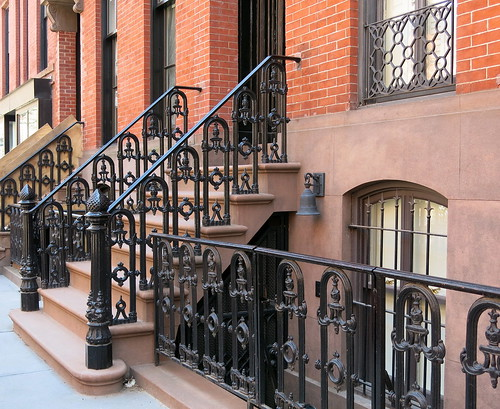 New york city brownstone photo